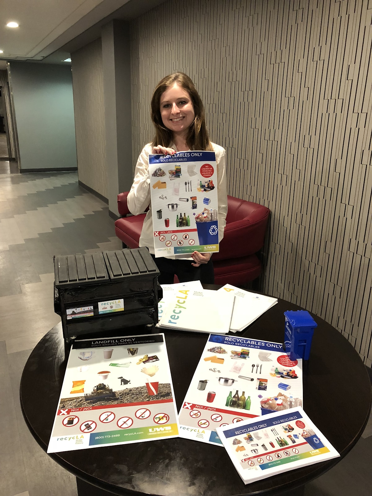 ZWT has distributed 10,000+ recycling resources to its customers through door-to-door interactions, community presentations, and local events.