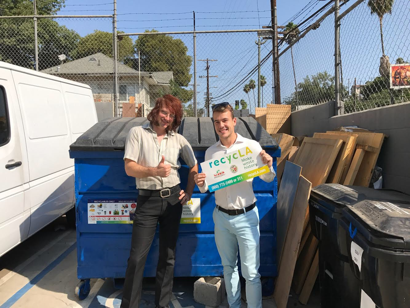 ZWT helped Vintage King Audio set up its recycling program to recycle over 90% of its waste